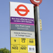 Monday July 23, 2012: Bus disruptions due to the London 2012 Olympics — Stock Photo #11826273