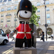 Queen's Guard Wenlock in London — Stock Photo