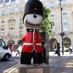 Queen's Guard Wenlock in London — Stock Photo