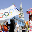 One day to London 2012 Olympics — ストック写真