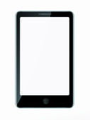 Smartphone isolated on white — Stock Photo