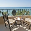 Стоковое фото: Tropical seview from balcony