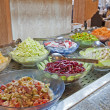 Salad selection in a hotel buffet — Stock Photo #11994882