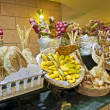 Bread display at hotel buffet — Stock Photo #11994921