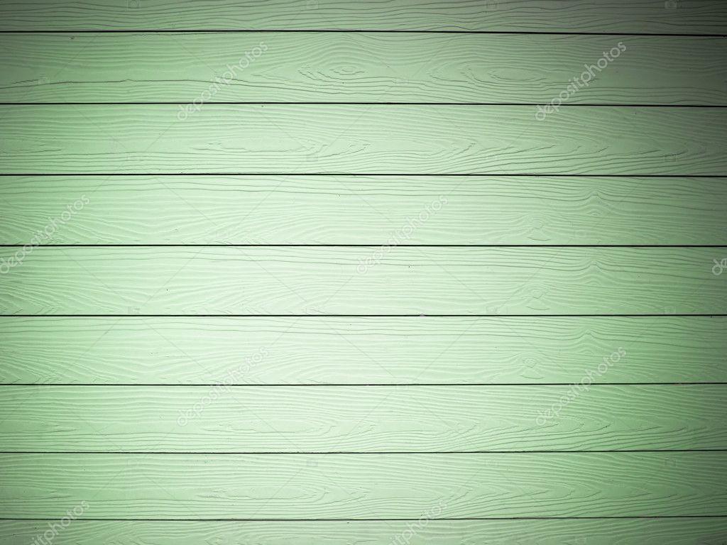 Textur der grünen brett holz wand horizontal — stockfoto ...