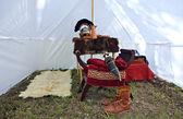 Roman tent — Stock Photo