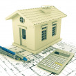 Planning home — Stock Photo #11460122