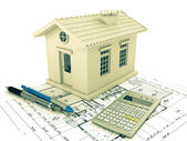 Planning home — Stock Photo
