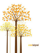 Trees 10 — Vector de stock