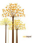 árboles de 10 — Vector de stock