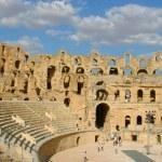 Roman amphitheater of El-Jam, colosseum — Stock Photo #11639655
