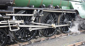 Steam Train Locomotive. — Stock Photo