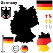 Royalty-Free Stock Vector Image: Germany map