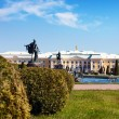 Peterhof Grand Palace in Saint-Petersburg — Stock Photo