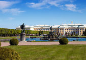 Peterhof Grand Palace in Russia — Stock Photo