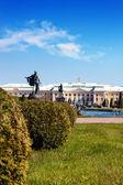 Peterhof Grand Palace in Saint-Petersburg — Stock Photo