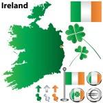 Постер, плакат: Ireland map