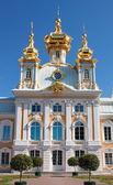 Grand palace in Peterhof — Stock Photo