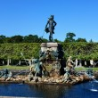 Fountain Neptune in the Upper Park of Peterhof — Stock Photo