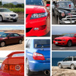 Постер, плакат: Collage of cars