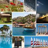 Mediterranean collage — Stock Photo
