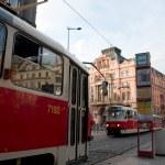 Prague trams — Stock Photo #12116927