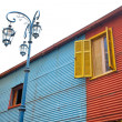 The colourful buildings of La Boca Buenos Aires Argentina — Foto Stock