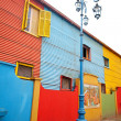 The colourful buildings of La Boca Buenos Aires Argentina — Stockfoto