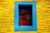 Os edifícios coloridos de la boca buenos aires argentina — Fotografia Stock