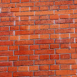Stock Photo: Background of a red brick wall
