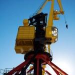 Crane in Puerto Madero Buenos Aires Argentina — Stock Photo #10777178