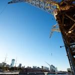 Crane in Puerto Madero Buenos Aires Argentina — Stock Photo #10777256