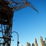 Crane in Puerto Madero Buenos Aires Argentina — Stock Photo #10777297