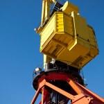 Crane in Puerto Madero Buenos Aires Argentina — Stock Photo #10777442