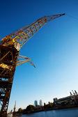Crane in Puerto Madero Buenos Aires Argentina — Stock Photo