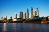 Puerto Madero in Buenos Aires Argentina — Stock Photo