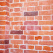 Stock Photo: Background of red brick wall