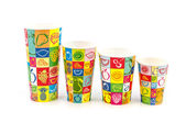 Refreshment Paper cups — Стоковое фото
