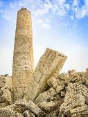 Stare rzymskie ruiny kolumna — Zdjęcie stockowe