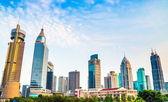 District Shanghai downtown skyscraper — Stock Photo
