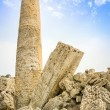 Old roman ruins column - Stock Photo