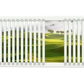 Krásná windows & pěkné golfové místo — Stock fotografie