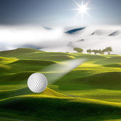 Hi, Let's golf — Stockfoto