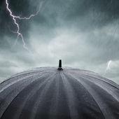 Pioggia e temporale — Foto Stock
