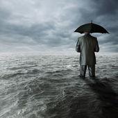 Crisis económica — Foto de Stock