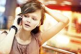 Compras en el mall — Foto de Stock