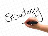 Strategy Handwritten — Stock Photo
