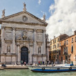 San Stae Church in Venice — Foto Stock