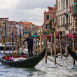 Stock Photo: Venice Gondoliers