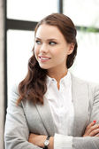 Happy and smiling woman — Stock Photo